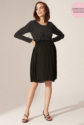 LC Waikiki Kadın  Siyah   Elbise 0Sq934Z8