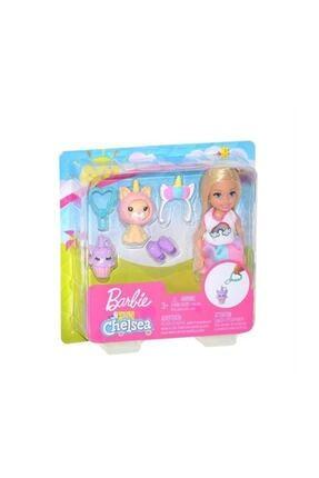 Barbie Kostümlü Chelsea Ve Hayvancığı Oyun Setleri