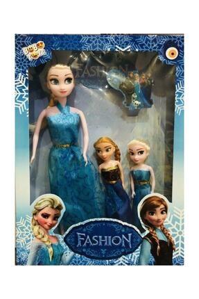 Disney Frozen Frozen Karlar Ülkesi Elsa Ve Anna 3 Lü Bebek Oyuncak Seti