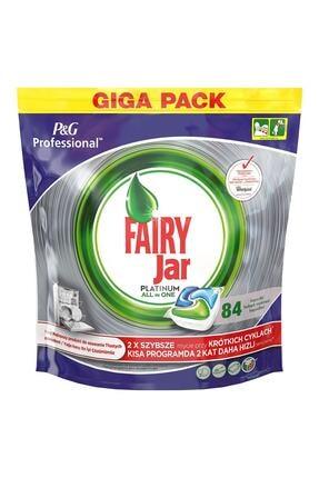 Fairy Professional 84 Yıkama Platinum Bulaşık Makinesi Deterjanı Kapsülü