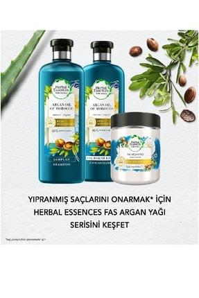 Herbal Essences Fas Argan Yağı Şampuan 400 Ml + Saç Bakım Kremi 360 Ml + Onarıcı Maske 250 Ml Kzmprt