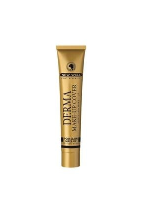 New Well Yoğun Kapatıcı Fondöten - Derma Make Up Cover 01 Gold 30 ml 8680923304816