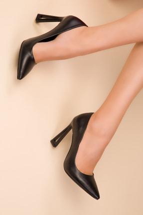 SOHO Siyah Kadın Klasik Topuklu Ayakkabı 15250