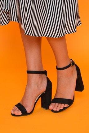 Mossta Süet Topuklu Ayakkabı K25