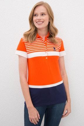 U.S. Polo Assn. Kadın T-Shirt G082SZ011.000.970359
