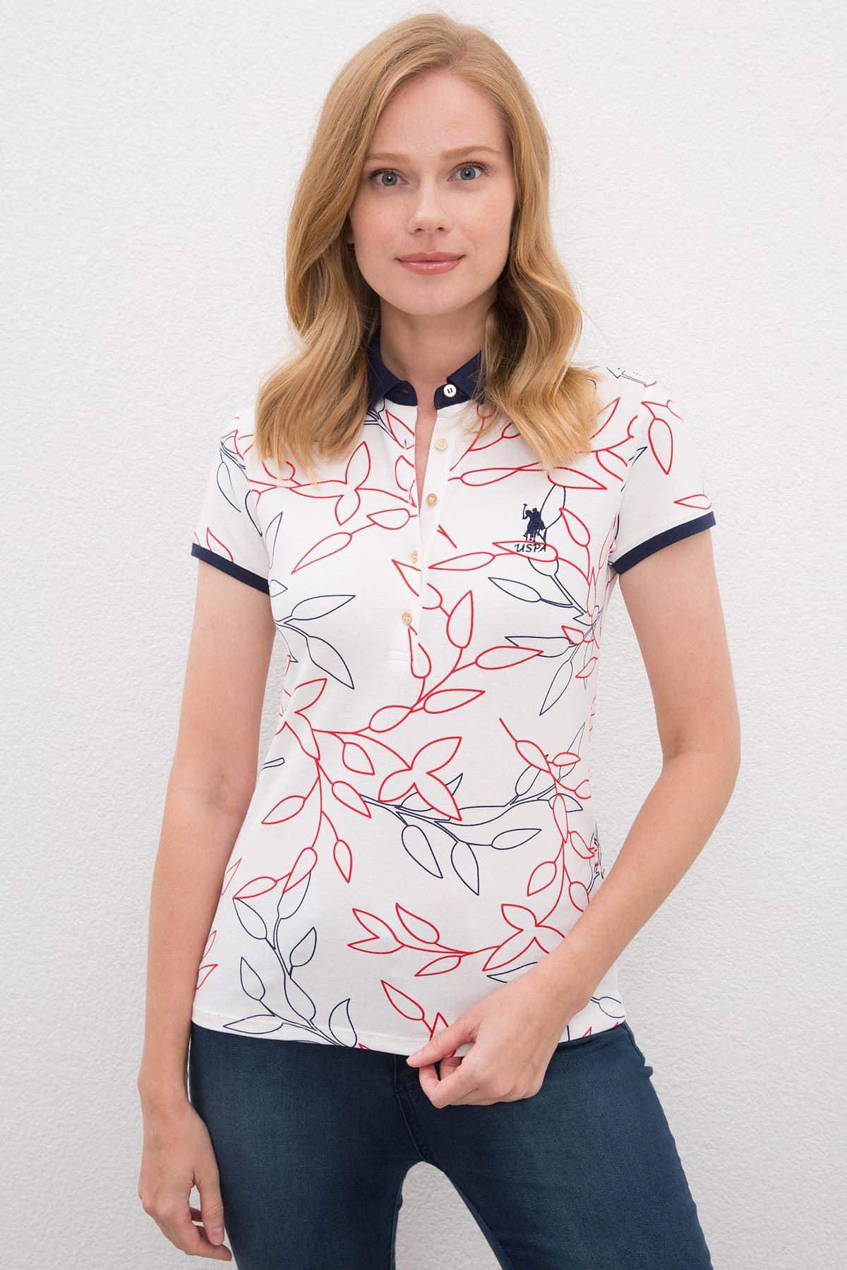 U.S. Polo Assn. Kadın T-Shirt G082SZ011.000.1088199 1