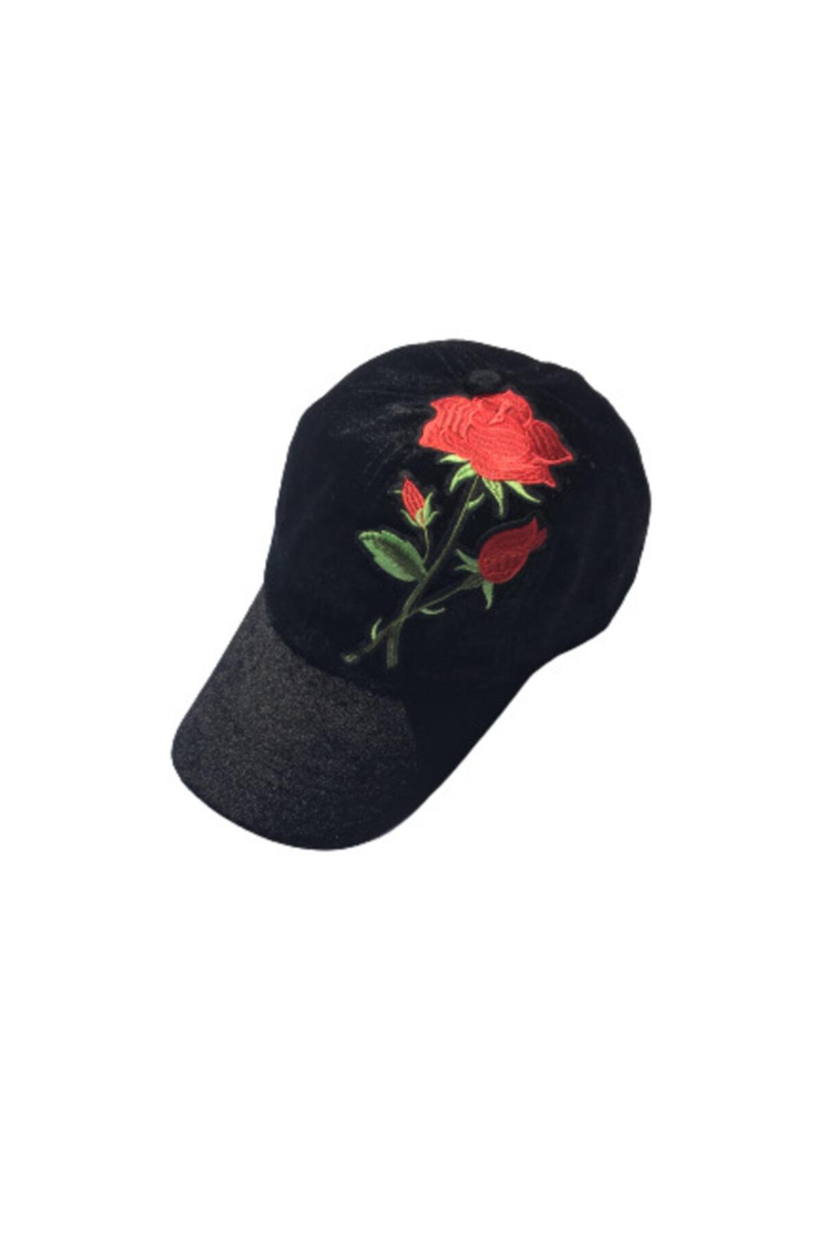 HANGNAVAL Gece Gülü Şapka Kadın Erkek Kadife Şapka 2