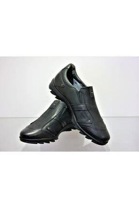MARCOMEN Genç Siyah Klasik Ayakkabı 9768