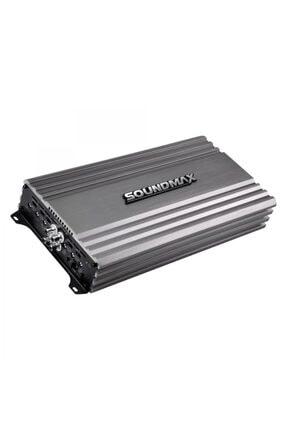 Soundmax Sx-4120.4 Oto Anfi 4x 120 Rms Yeni Seri 2020 6000watt Maxx