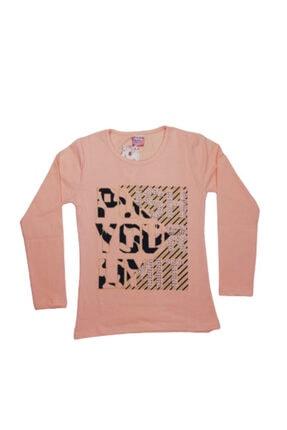 toprak Kız Çocuk Somon Rengi Sweatshirt 3081702