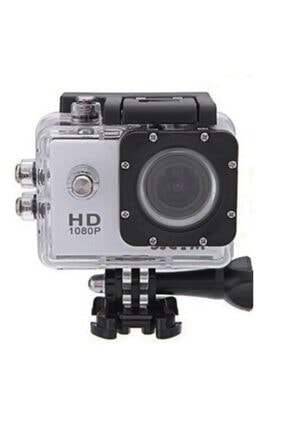 "Techno phone 1080p Full Hd 1.5""lcd Ekranlı Waterproof Aksiyon Kamera-silver"