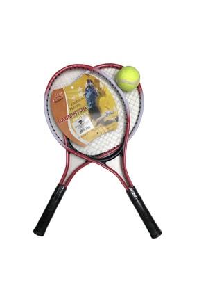 Pasifik Komple Çantalı Kort Çocuk Tenis Raketi Seti