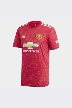 adidas Erkek Kırmızı Manchester United Futbol Forması H Jsy Gc7958