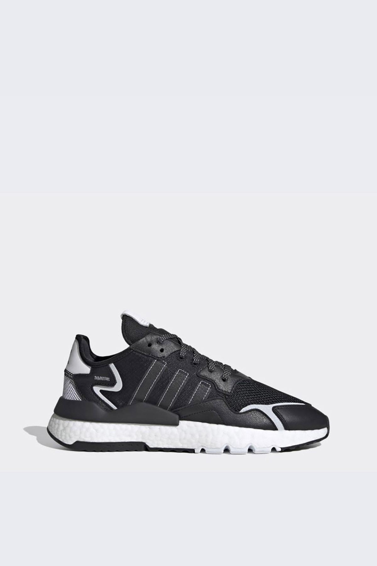 adidas Erkek Günlük Spor Ayakkabı Nite Jogger Fw2055 1