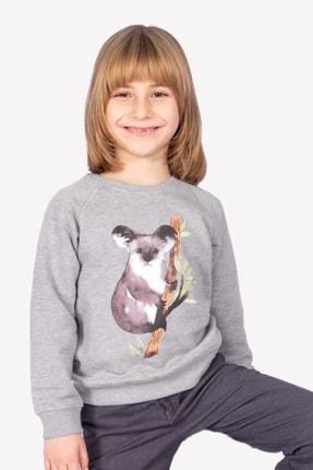 Ozmoz Organik Erkek Çocuk Kuala Baskılı Sweatshirt