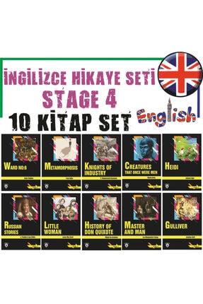 Hayat Poster Stage 4 Ingilizce Hikaye Kitap Seti 10 Kitap