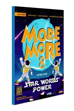 Kurmay ELT More And More 8. Sınıf English Star Words Power