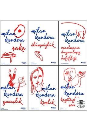 Can Yayınları Milan Kundera 6 Kitap Set Şaka-ölümsüzlük-varolmanın Dayanılmaz Hafifliği
