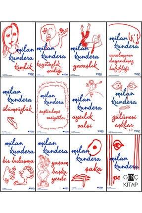 Can Yayınları Milan Kundera 12 Kitap Set Varolmanın Dayanılmaz Hafifliği-şaka-perde-yavaşlık-kimlik