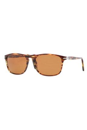 Persol Eyewear Kadın Kahverengi Güneş Gözlüğü