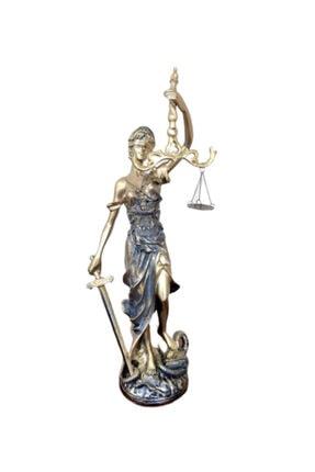 BARIŞ Adalet Terazisi Heykeli Biblo Figür