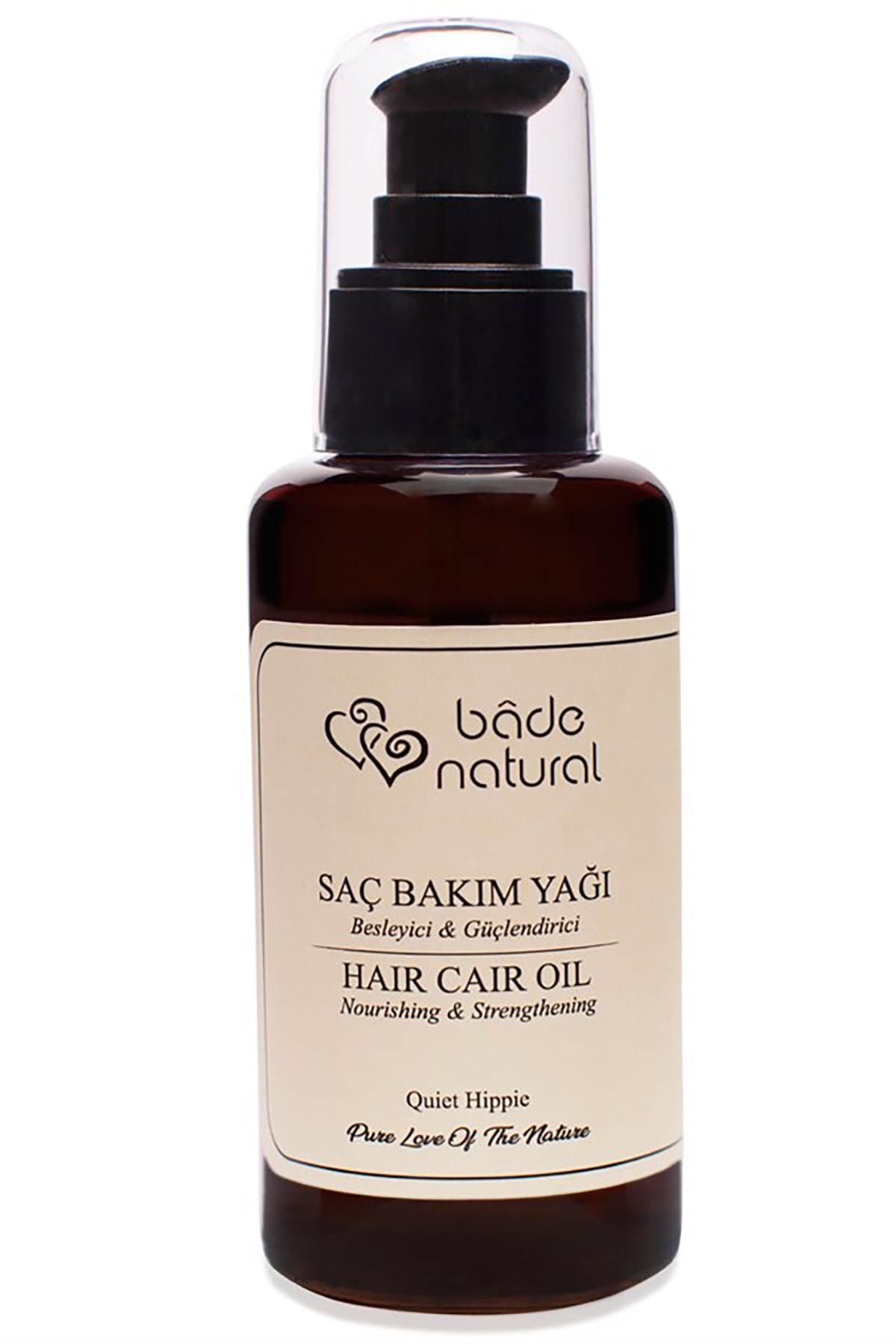 Bade Natural Güçlendirici & Besleyici Aromaterapi Saç Bakım Yağı 8681529832147 1