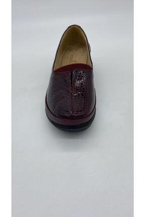 Riccardo Colli Kadın Bordo Deri Günlük Ayakkabı Z.2056