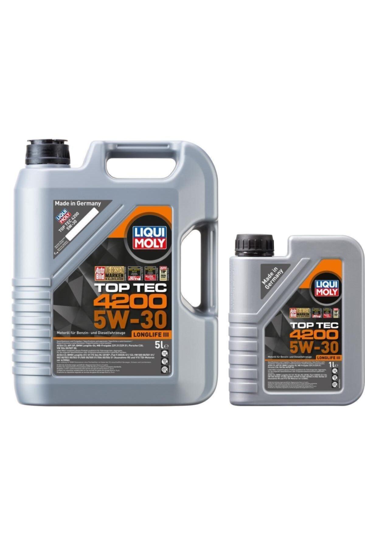 Liqui Moly Lıquı Moly 5w30 Motor Yağı Tam Sentetik Top Tec 4200 5+1 L 1