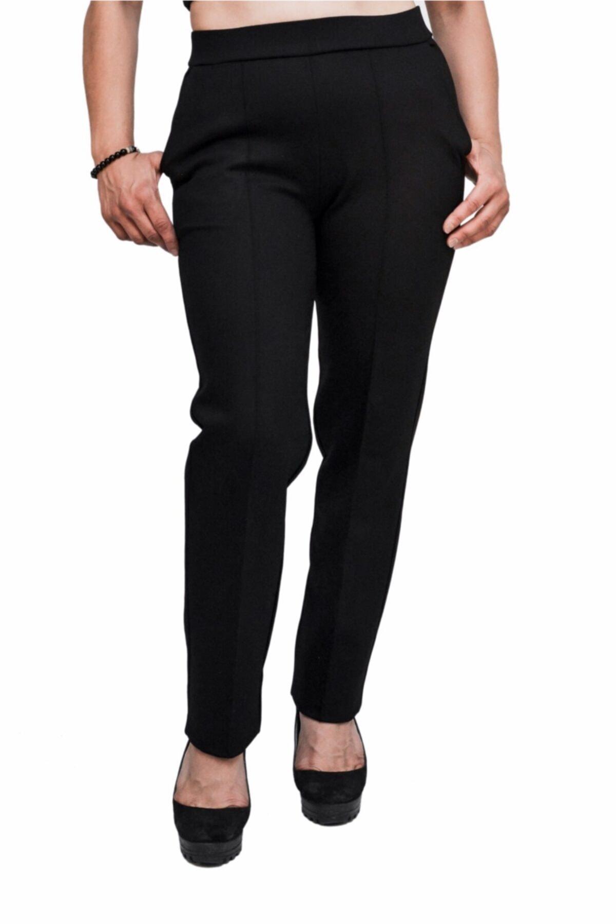 Otto Kadın Siyah Kalem Pantalon 1