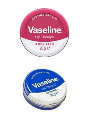 Vaseline Dudak Bakım Seti (lip Therapy Original 20g + Lip Therapy Rose 20 gr)