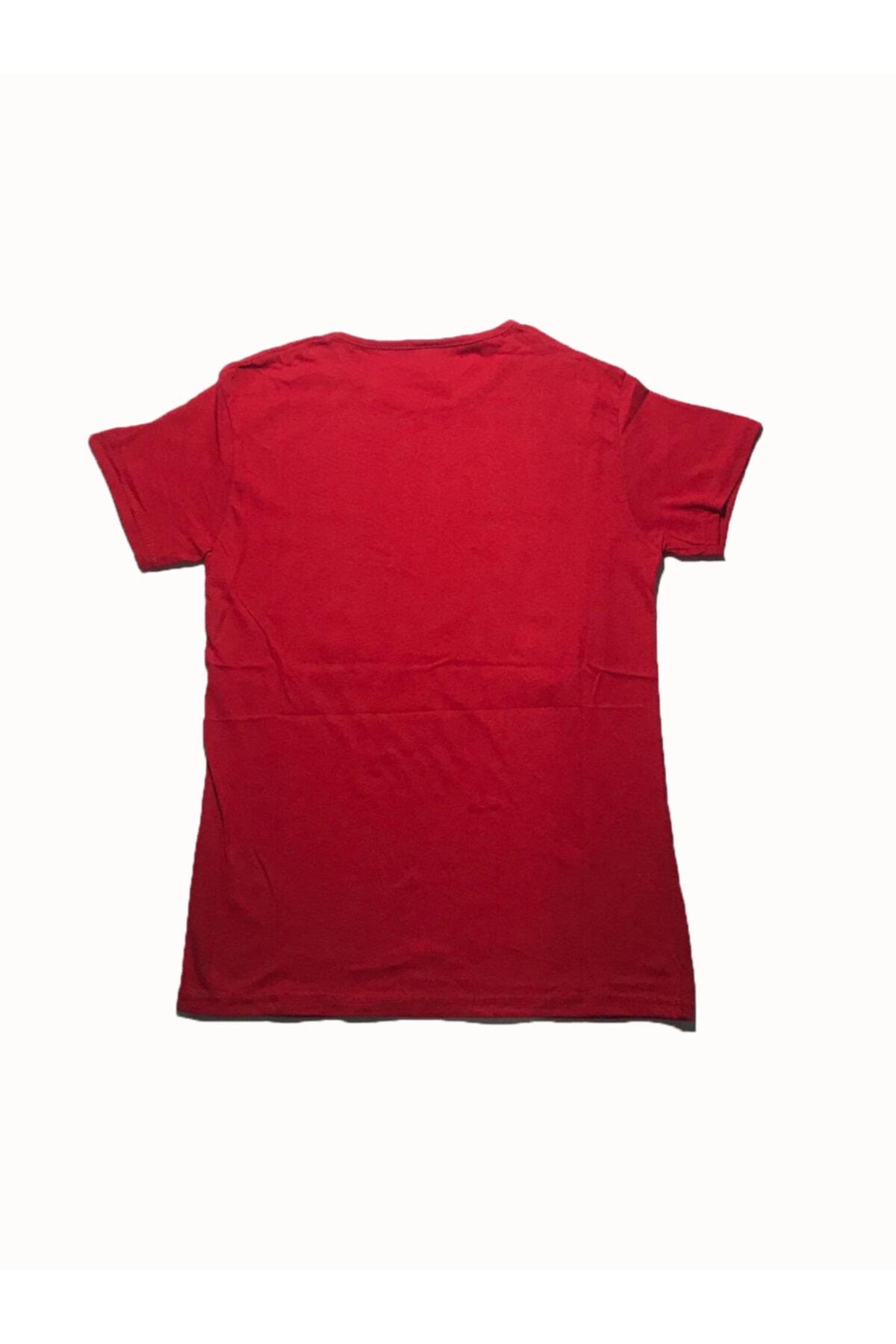DOĞRU Erkek Kırmızı Türk Bayraklı Tshirt 2