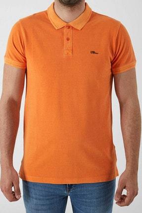 Ltb Erkek  Oranj Polo Yaka T-Shirt 012208454160890000