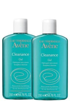 Avene Yüz Temizleyici - Cleanance Gel Nettoyant 2x200 ml Set 1212000000019