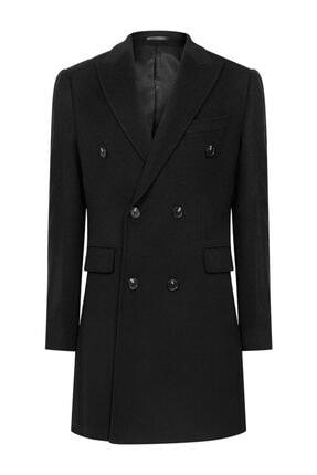 W Collection Erkek  Lacivert  Manto - Palto .v41 .54/6