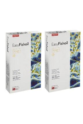 Easy Fishoil Omega 3 ve D Vitamini 30 Tablet x2 Adet
