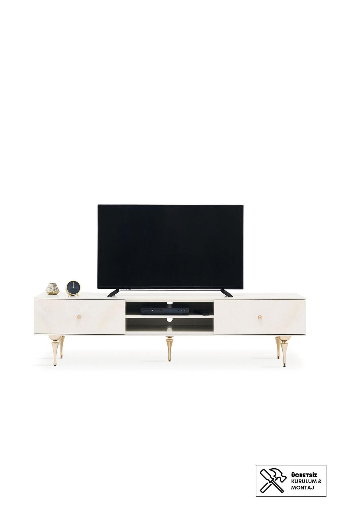 Enza Home Piedra Tv Sehpası (51X200X46 Cm)