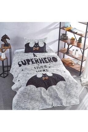 Club Cotton Super Hero Tek Kişilik Yatak Örtüsü