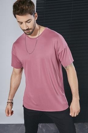 Sateen Men Erkek Gül Kurusu Nubuk T-Shirt Stn182Ets105