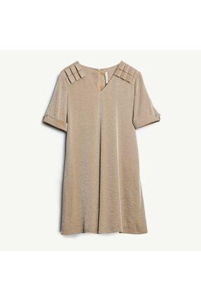Yargıcı V Yakalı Elbise