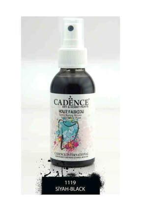 Cadence Sprey Kumaş Boyası - Siyah 1119