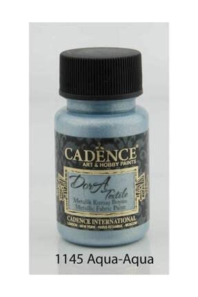 Cadence Dora Textile Metalik Kumaş Boyası 50 ml. 1145 AQUA