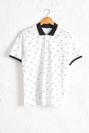 LC Waikiki Erkek Beyaz Tişört 0SP137Z8