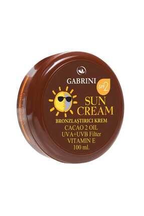 Gabrini Kakao Özlü Bronzlaştırıcı Krem 8696814037817