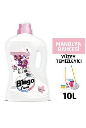 Bingo Fresh Yüzey Temizleyici 2,5 Lt Manolya Ekonomi Paketi 4'lü