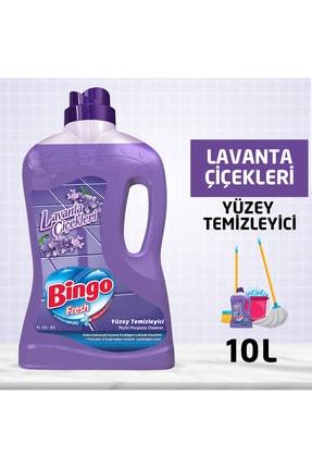 Bingo Fresh Tüzey Temizleyici 2,5 lt Lavanta Çiçekleri Ekonomi Paketi 4'lü