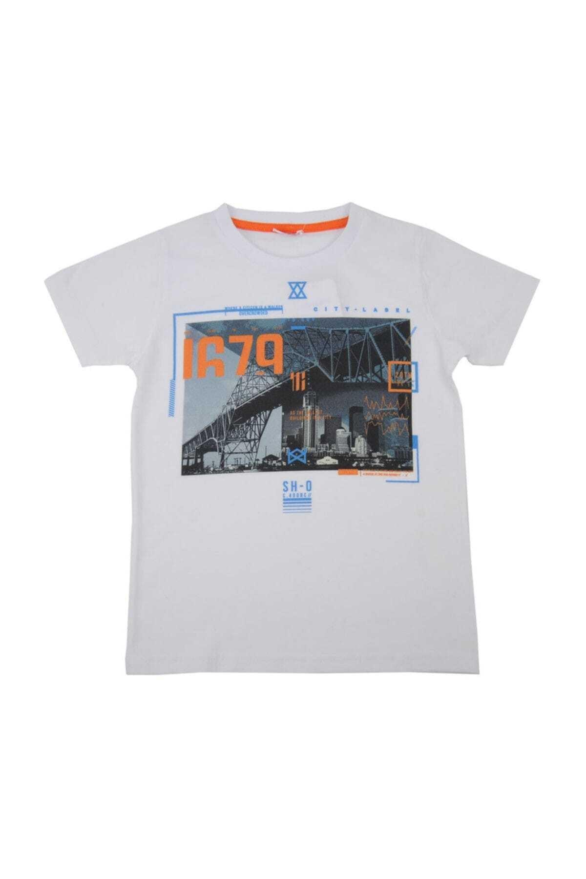 Zeyland Erkek Çocuk Beyaz T-Shirt 1