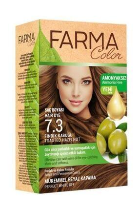 Farmasi 7090237 Farmacolor Saç Boyası Fındık Kabuğu 7.3 Amonyaksız