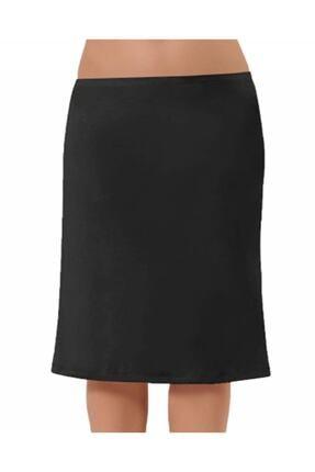 NBB Kadın Siyah Uzun Jüpon 2901