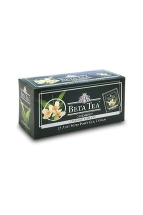 Beta Tea Beta Jasmine Green Bardak Poşet 25 X 2 Gr Yaseminli Yeşil Çay