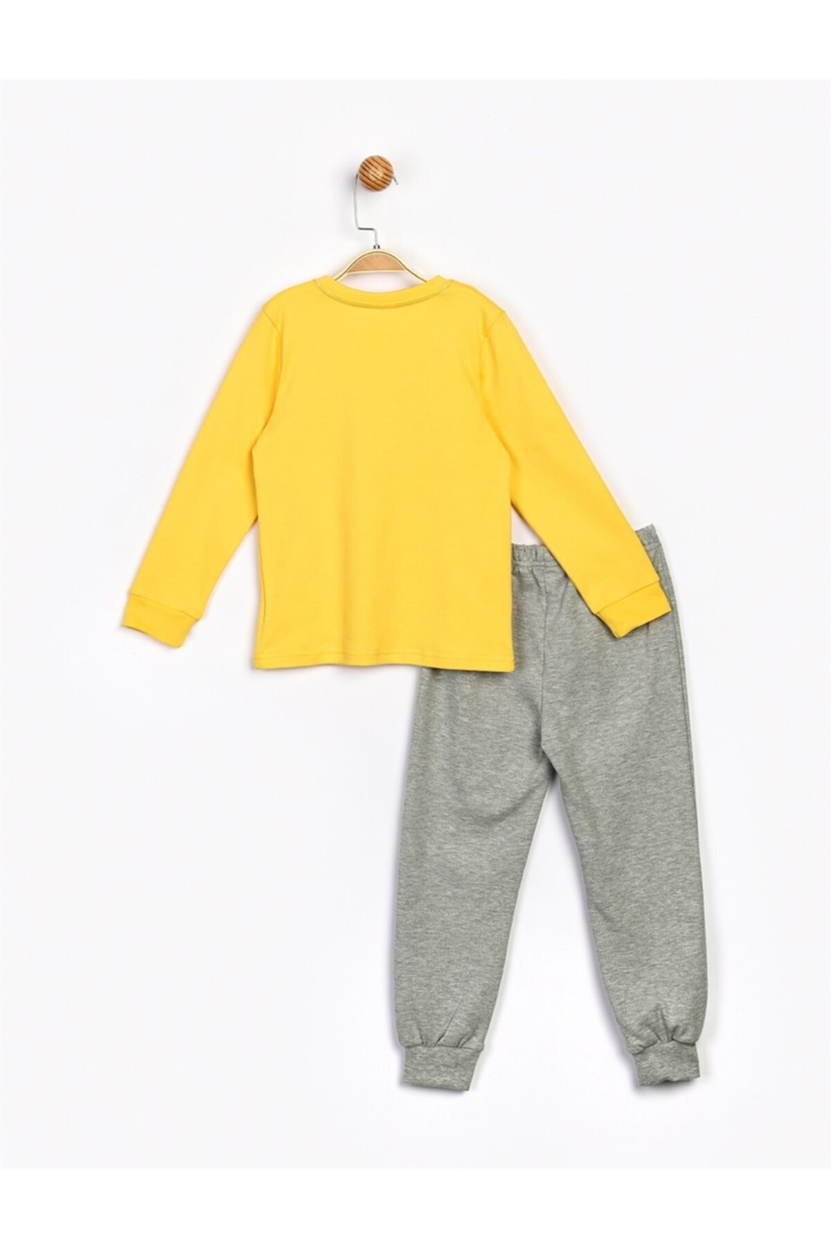 Mickey Mouse Erkek Çocuk Sarı Alt Üst Takım 2